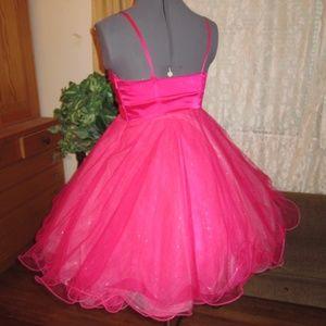 Pinup look Barbie vibe Prom Cocktail Cupcake Dress